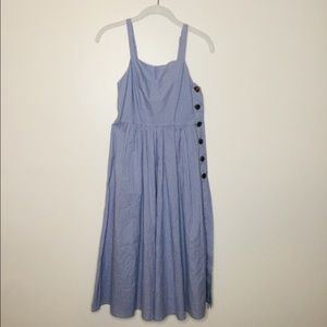 Urban Outfitters Kaye Button Down midi dress